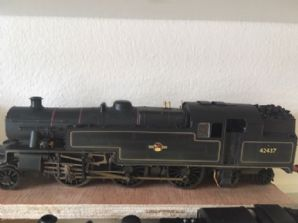 Christmas Special - Hornby 4MT (Crew, Coal, DCC)